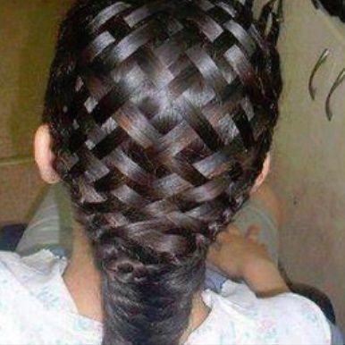 beach curl hairstyles : Basket Weave Hairstyle Video Tutorial! N!FY Beauty Tips! Pinterest