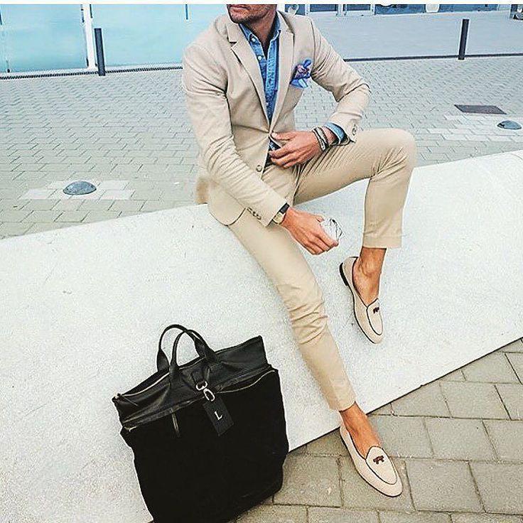 Nice khaki suit