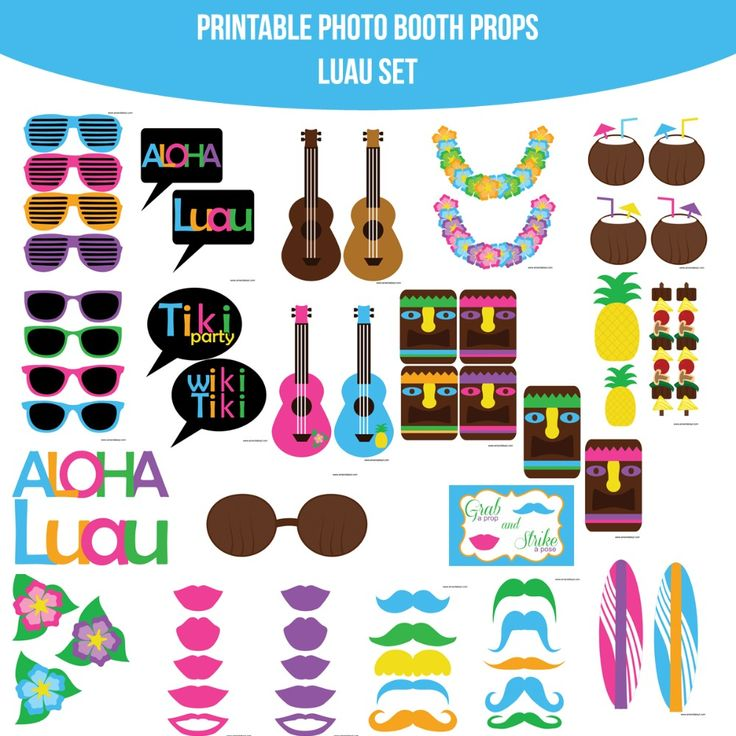 35 Best Images About Printable On Pinterest: 35 Best Images About Luau Party On Pinterest