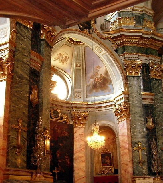 | ♕ | French Baroque church - Vieux Nice | by © CHRIS230 | via ysvoice