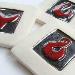 Ceramic Art Tiles   Maui collection of ceramic tile art