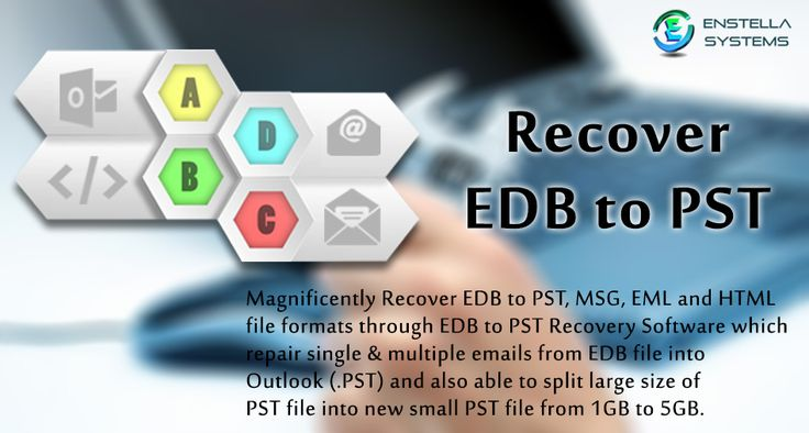 Advanced EDB to PST Converter Tool helps you to repair, recover and Convert Exchange EDB to PST with EDB like as folders- Inbox, Outbox, Sent Items, Deleted Items, Draft, Journals, Tasks, Calendars, Notes, and Contacts with MSG, PST, EML, HTML. Visit Here :- http://www.priv1edbtopst.com/repair/