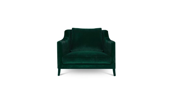 COMO ARMCHAIR - Contemporary Mid-Century | Contract Furniture | Hospitality Furniture #Upholsteredchairs #Velvetarmchair #modernchairs | Find more inspiration at: https://www.brabbu.com/en/upholstery/