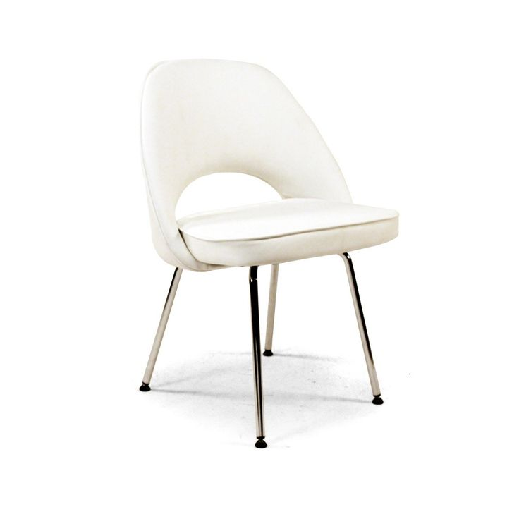 Best Side Chair With Metal Legs White Leatherette Upholstery 640 x 480