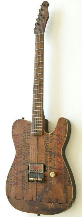 "RS Guitars ""Ammocaster"" --- https://www.pinterest.com/lardyfatboy/"