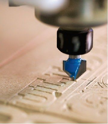 Desktop CNC Router Pattern Cutting for the Home Workshop