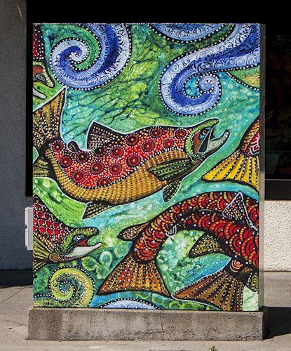 salmon art - Google Search