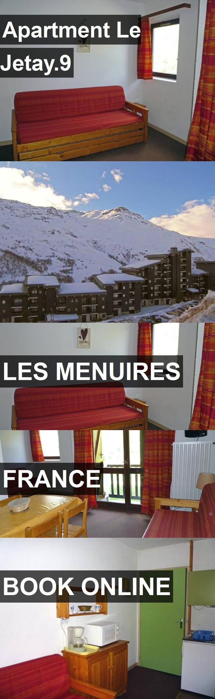 Apartment Le Jetay.9 in Les Menuires, France. For more information, photos, reviews and best prices please follow the link. #France #LesMenuires #travel #vacation #apartment