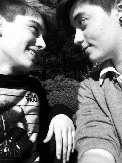 Alex Bertie and Jack Edwards