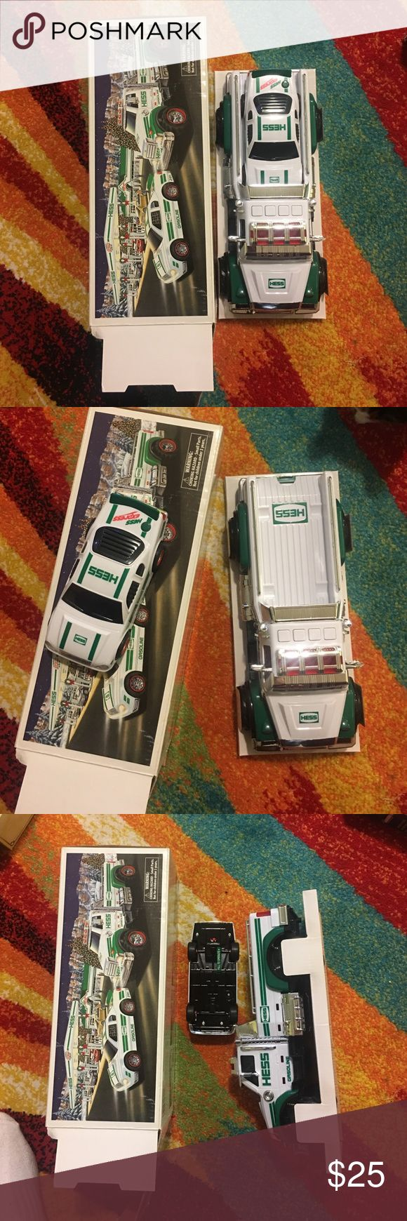Hess Toy truck and race car 2011 2011 Hess toy truck with race car brand new Other