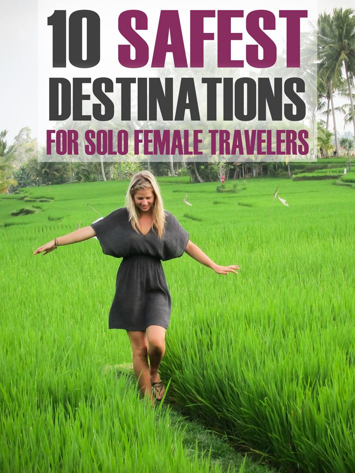 10 Safest Destinations for Solo Female Travelers