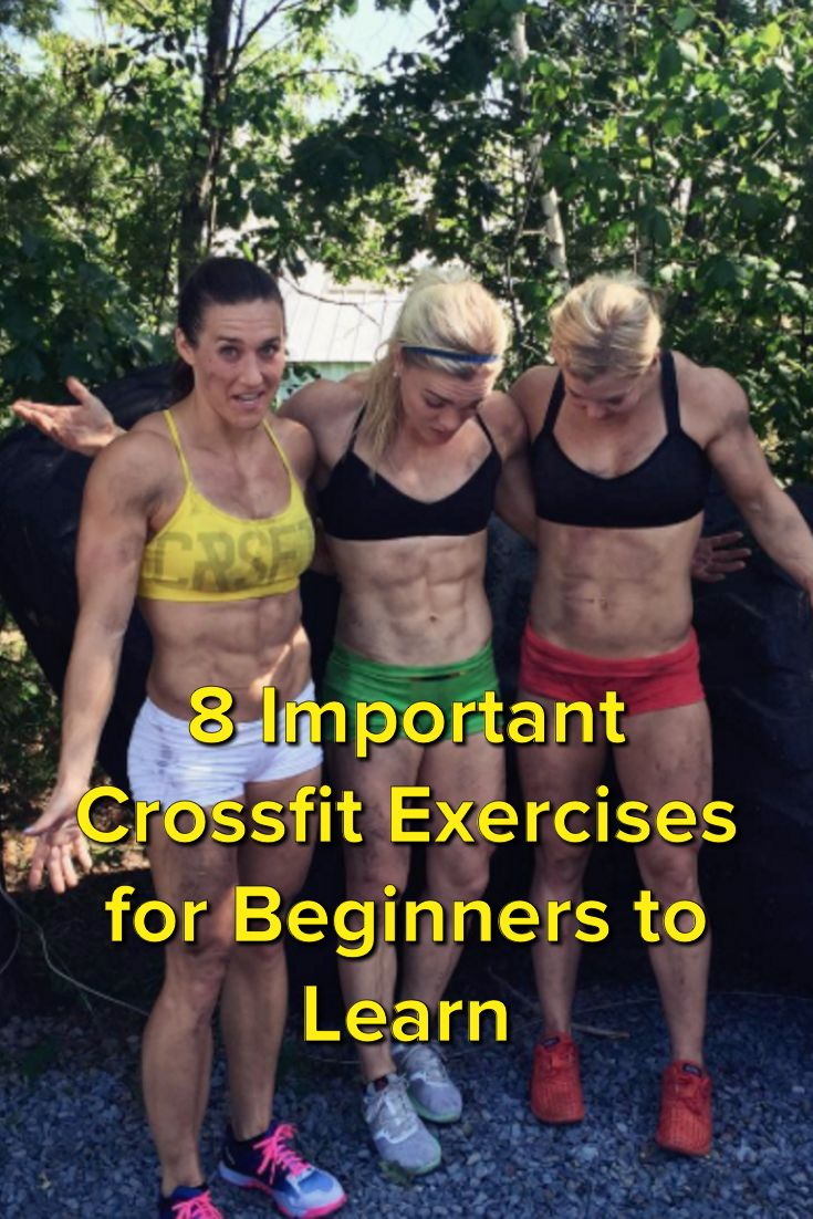 8 Important Crossfit Exercises for Beginners to Learn
