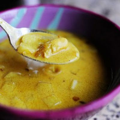 Mulligatawny Soup - Pioneer Woman @keyingredient #soup #chicken