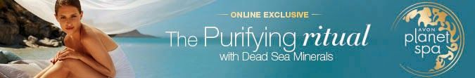 Avon Brochure Catalogs Online: Planet Spa Perfectly Purifying With Dead Sea Miner... #planetspa #skincare