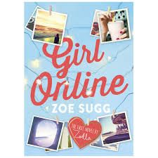 """The first book in Zoella's series """"Girl online."""""""