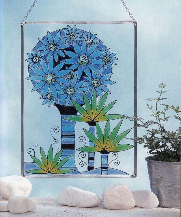 Pictura pe sticla si portelan - model 7