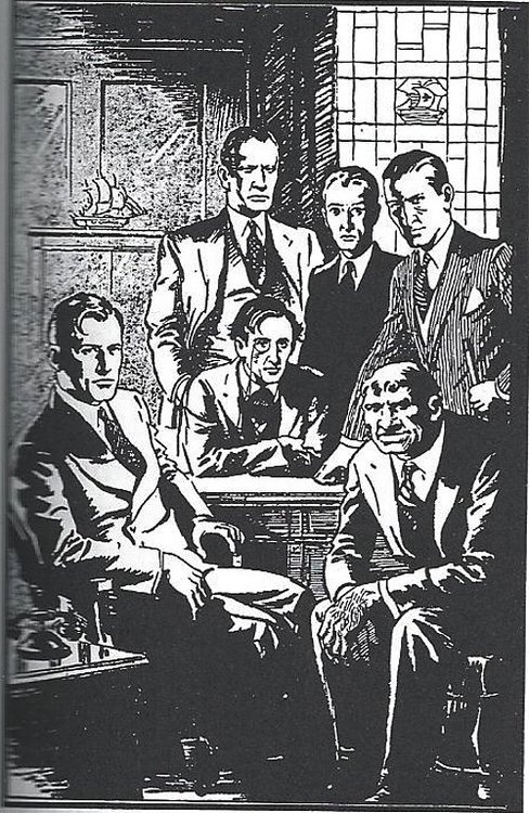 Doc Savage and The Fabulous Five.