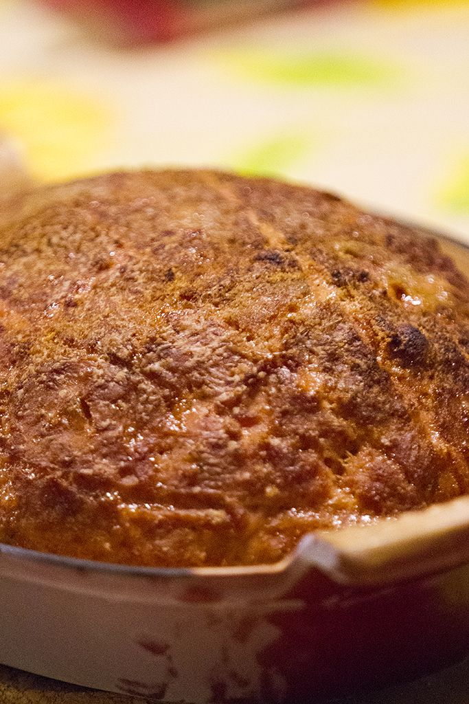 """Meatloaf """"Cajun"""" with a smoky touch"""