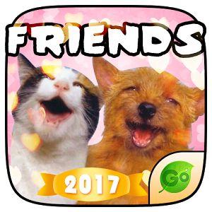 Keyboard Sticker Pet Friends