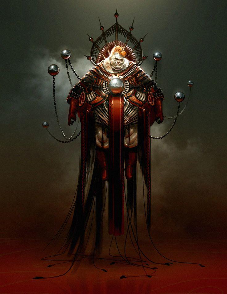 Dune redesign: Vladimir Harkonnen by SimonDubuc.deviantart.com on @DeviantArt