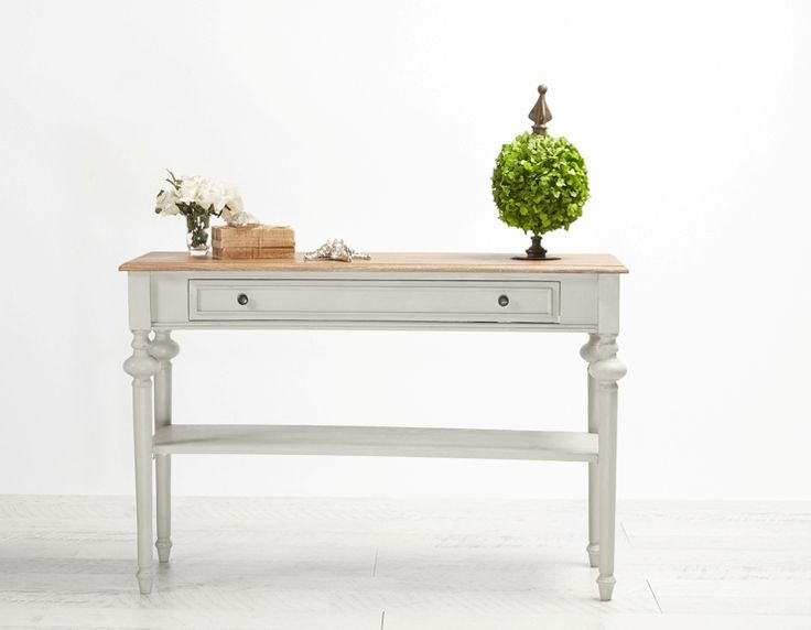 Maxime Console Light Grey from Villa Maison #hamptonsstyle #hamptons #interiors #design