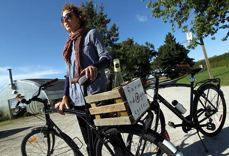 Farm Dog Cycles: Starting a bicycle touring business in Essex County Ontario's wine country was something Balsillie, 26, and her husband Liam Brennan, 27, had talked about for a long time.
