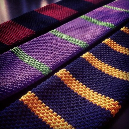 Knits || love purple-gold... BCC