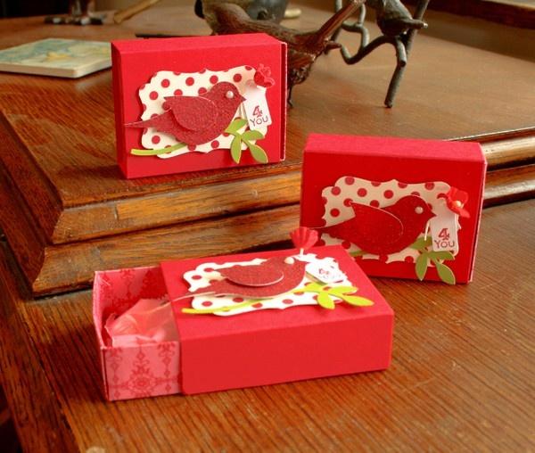 tweet boxes Valentines cards, Paper crafts, Valentine treats