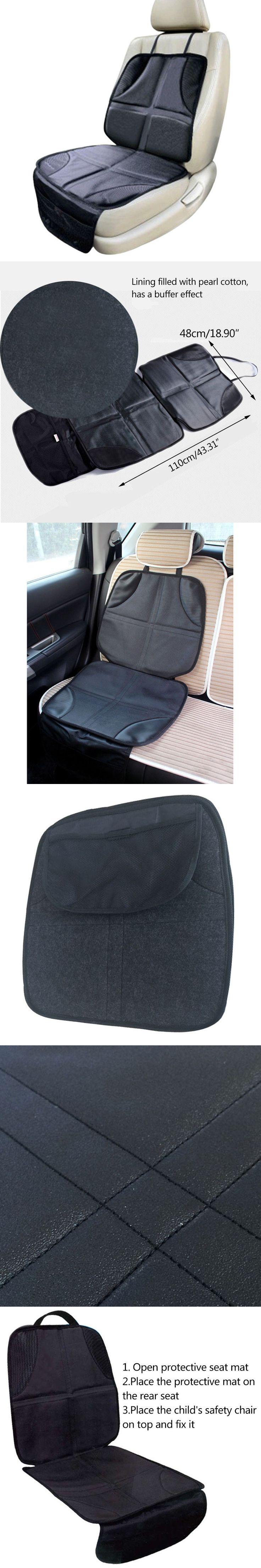 110*48 cm Baby Car Seat Mat Non-Slip Child Car Safety Seats Waterproof Cushion Newborn Car Seat Mat with Storage Bag