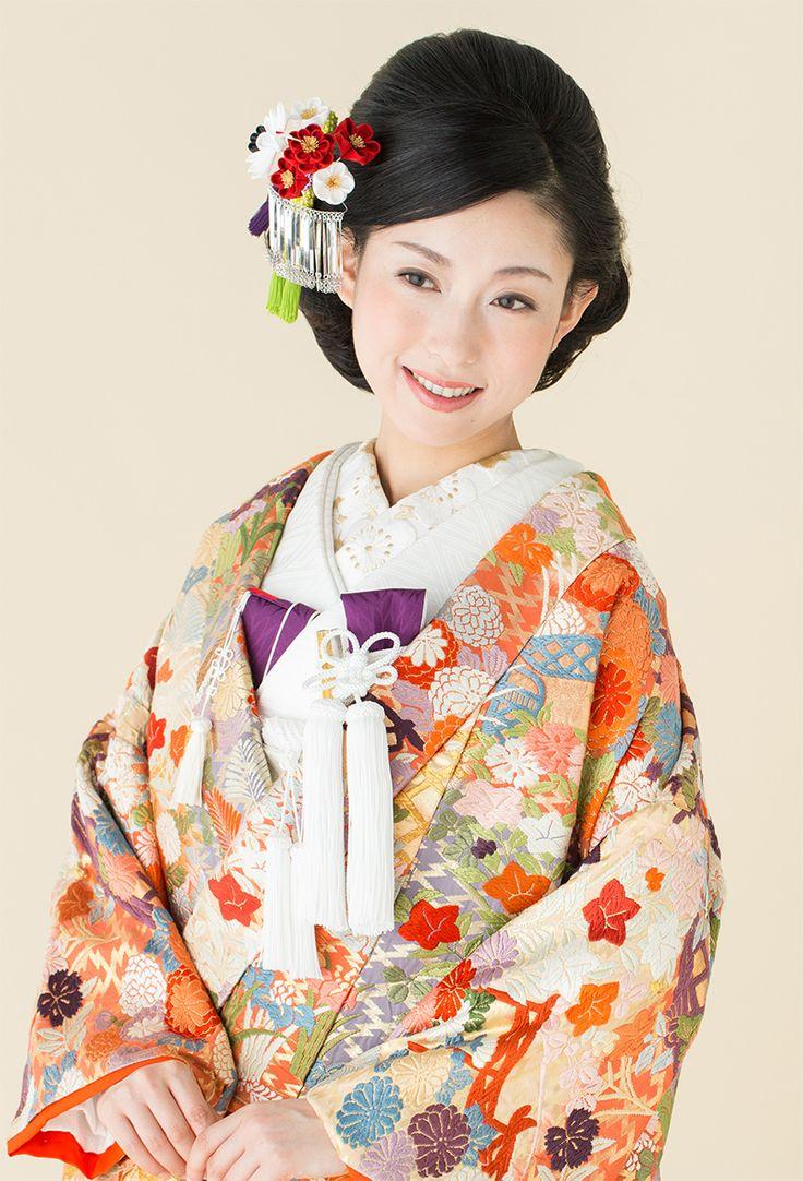 【ブライダル】梅の鶴ビラかんざし
