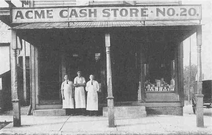The first ACME store - Akron/CFO