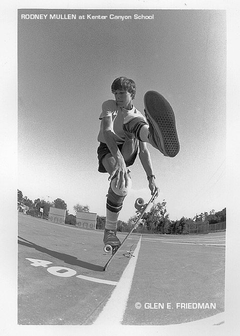 In my opinion, the greatest skateboarder of all time, Rodney Mullen. Genius level natural talent and inspiring determination- he invented most every trick and most of the things he's done have never been duplicated. It's because of a video I saw of him that I began skating and haven't stopped since. Check him out in Bones Brigade An Autobiography http://skateshoereviews.com/bones-brigade-an-autobiography-review
