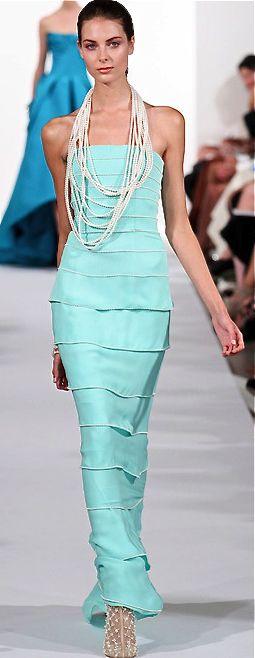 Oscar de la Renta, 2014  #FashionSerendipity #Fashion