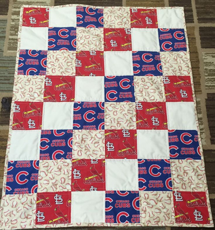 16 Best Chicago Cubs Quilts Images On Pinterest Chicago