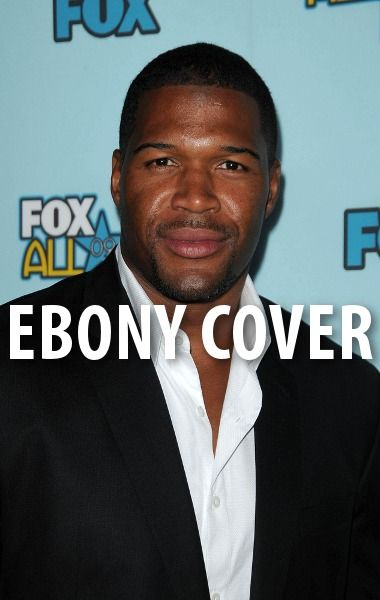 Michael revealed that he will be on the cover of 'Ebony Magazine.' http://www.recapo.com/live-with-kelly-ripa/live-with-kelly-co-hosts/michael-strahan-ebony-cover-nyu-football-panel-wrestling-event/