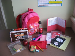 A Doll for all Seasons- blog with great ideas on sewing and crafting this entire backpack set