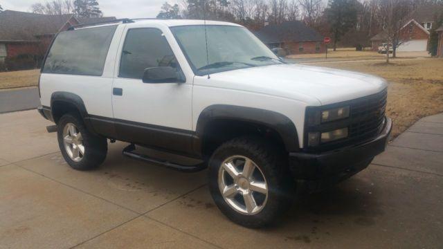 1993 K1500 2 Door Blazer Chevrolet Blazer Gm Trucks Chevrolet