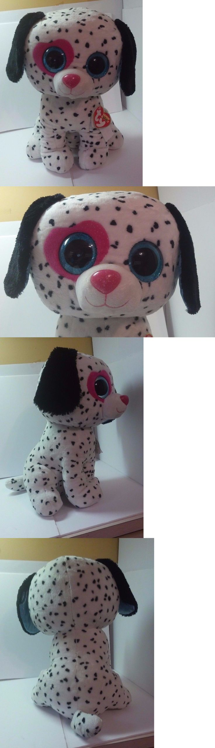 Other Ty Beanbag Plush 1037: Ty Beanie Boos Chloe Large 16 Plush Dalmatian Puppy Dog Justice Exclusive Nwt -> BUY IT NOW ONLY: $79.99 on eBay!