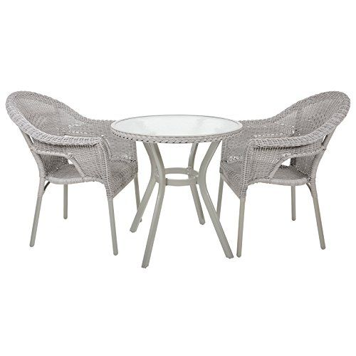 Dine al-fresco this summer time with the Havana bistro set. It includes a…