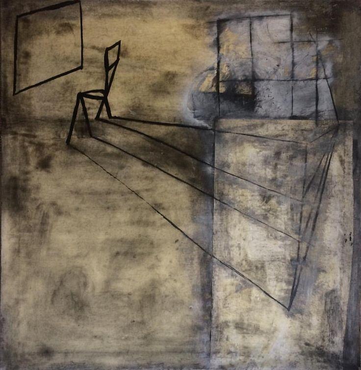 Mauro Benzi — Old Nowhere / The Studio Window  2012 #geometric...