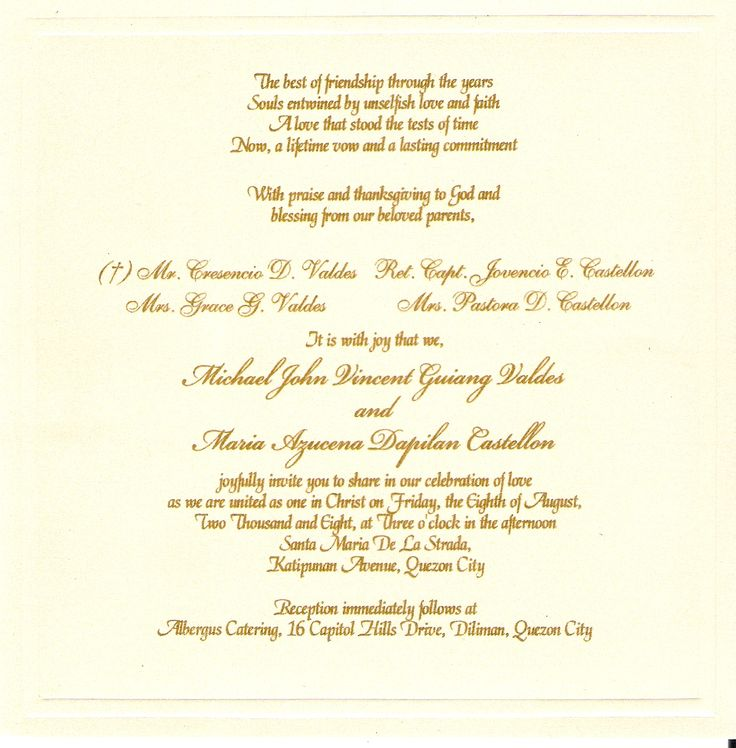 Buy Wedding Invitation Templates: Wedding Invitations