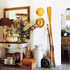 Brabourne Farm: Rustic Tablescapes 3House Tours, Decor Ideas, Beach Cottages, Summer House, Entry, Coastal Home, Entrance Hall, Cottages Design, Country Farmhouse