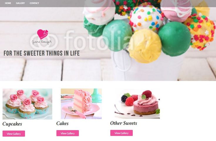 Basic Website Package, set up weebly site for cake makers, cake decorators, bakers | Basic Website Package | Now is the time to get a website built to start showcasing what you have to offer and why they should be calling you today.  I am offering a basic website package for only $200! | http://angelfoods.net/weebly