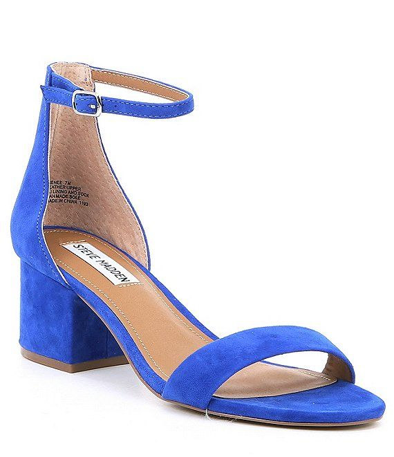 Steve Madden Irenee Ankle Strap Suede