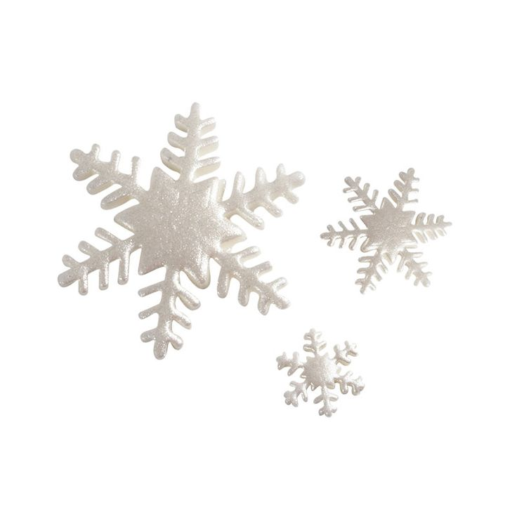 Silver Snowflake from Sugarcraft - Available in Small, Medium & Large