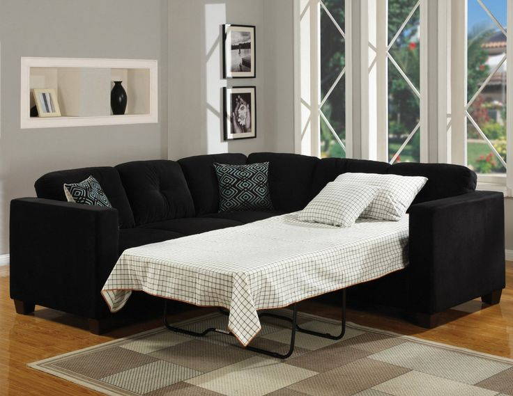 decorating leather sectional sleeper sofa in black on wooden regarding sizing 940 x 838 black sectional sofa sleeper with the need of sectional sofas on
