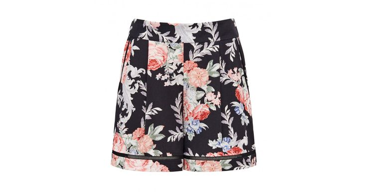 Add a cute twist to any summer ensemble with our Faye flippy trim shorts. Dress…