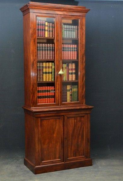 A Fine Example of Victorian Bookcase