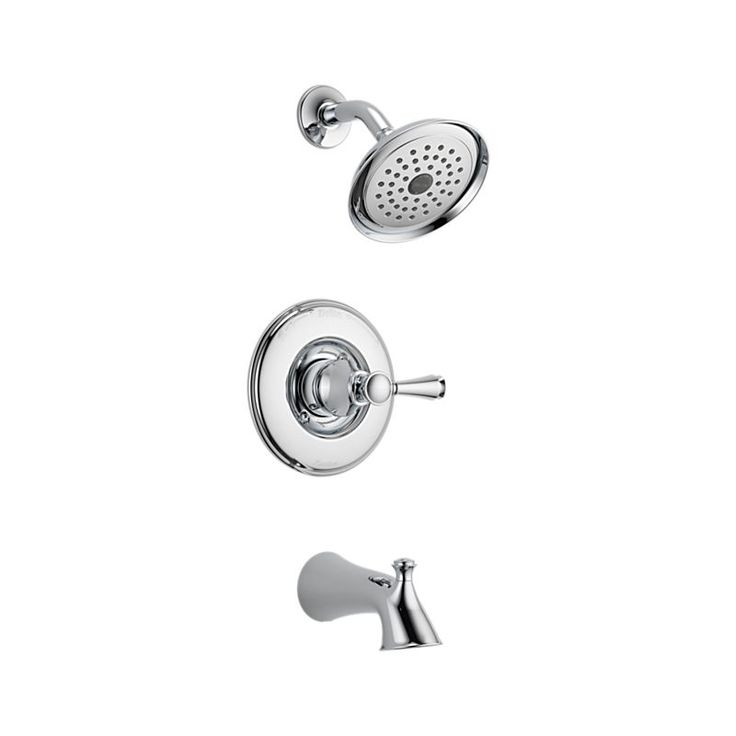 Silverton Replacement Parts : Delta silverton monitor series tub and shower