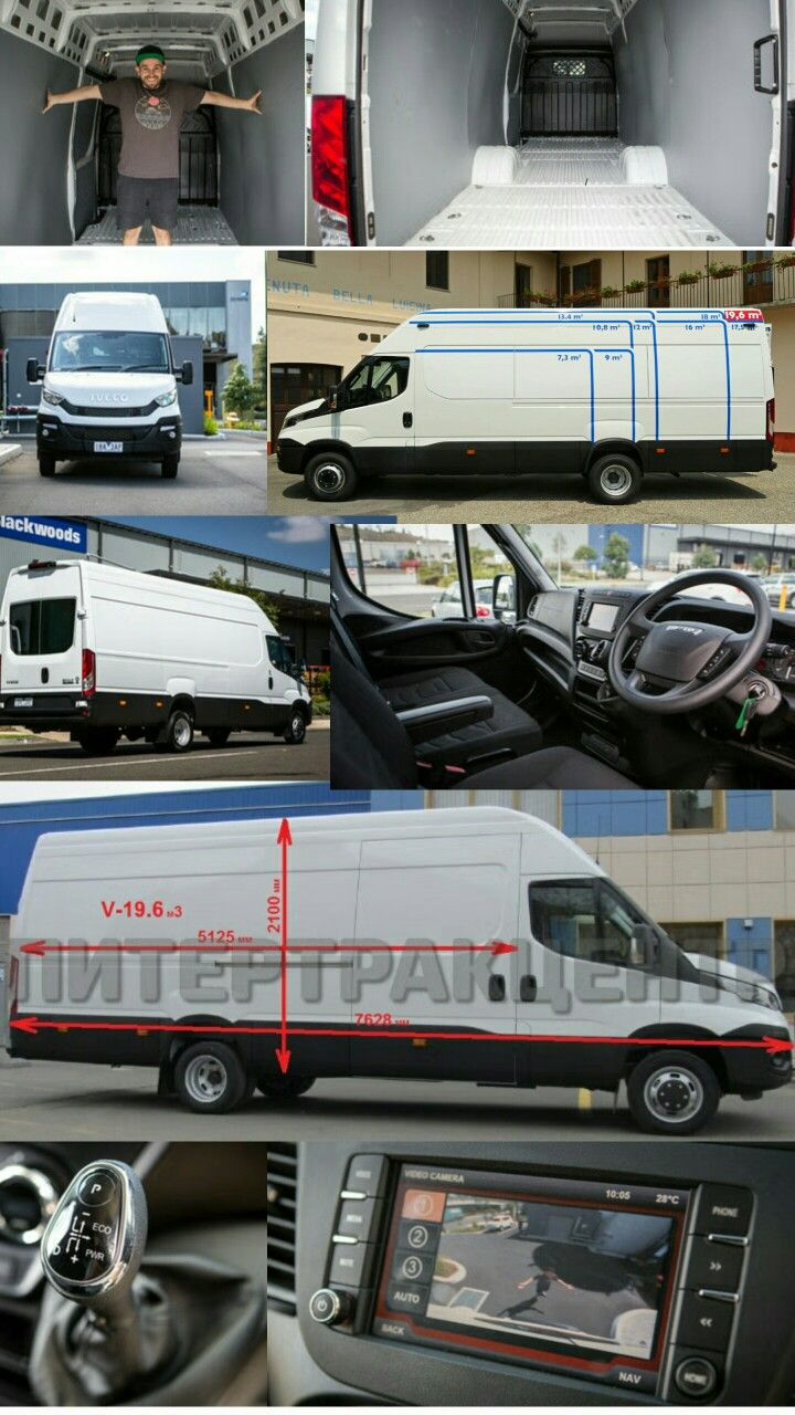 45f833eb47 Iveco daily 3.0 litres and 204 hp. The biggest van and 5125 mm length for